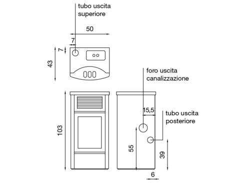scheda tecnica palladio IBM130