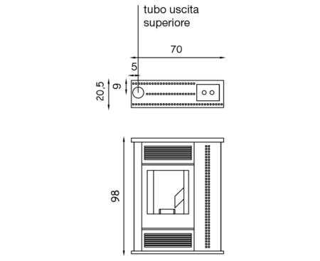 scheda tecnica palladio tablet 110