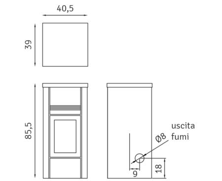 scheda tecnica palladio web